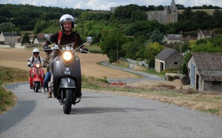 3 days scooter ride in the Loire Valley