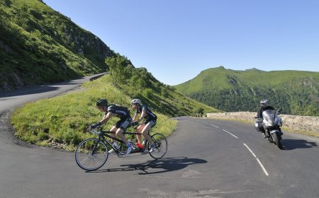 Tour de France motorcycle guided tour