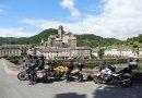 Descoberta da França em motocicleta
