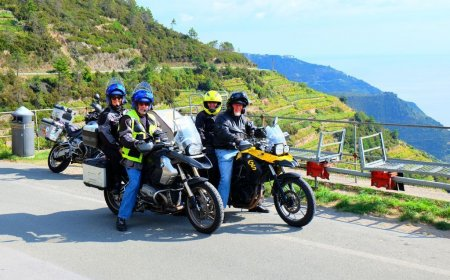 Tuscany & Cinque Terre motorcycle tour