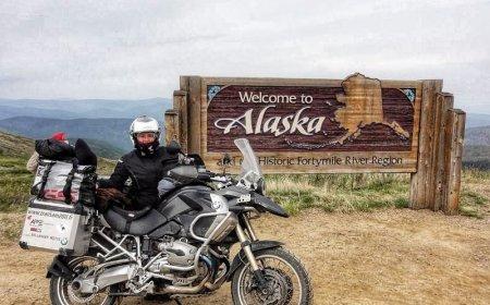 L'Alaska & Yukon à moto, road trip dans le Grand nord canadien