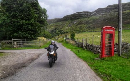 Scotland motorcycle tour