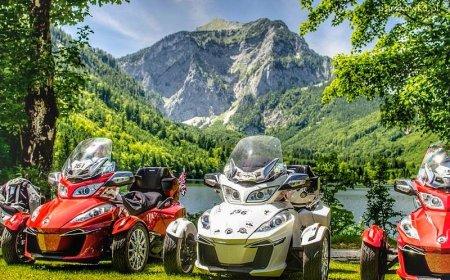 Voyage Can-Am en France - De l'Alsace à la Côte d'Azur en Spyder
