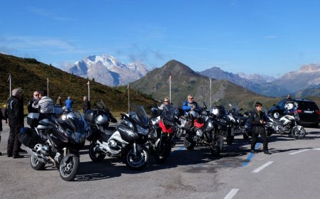 Grand Alps loop motorcycle tour