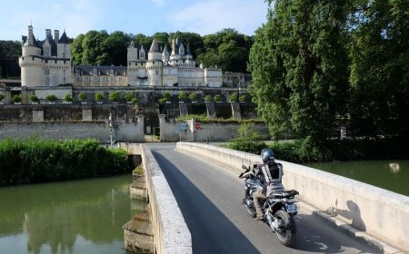Fin de semana en valle del Loira en motocicleta