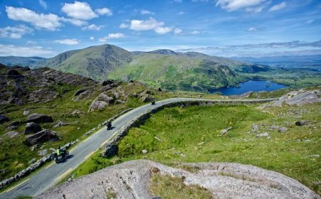 Irish loop motorcycle tour