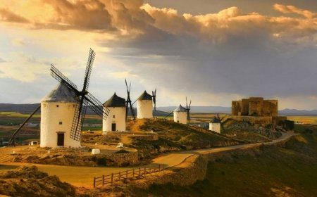 Central Spain : A ride in Don Quichotte country