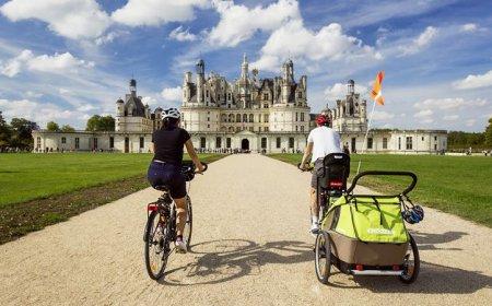 La Loire à vélo de l'Anjou à Chambord