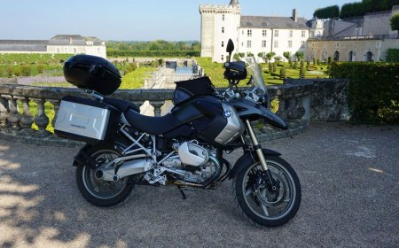 Loire Valley motorcycle ride