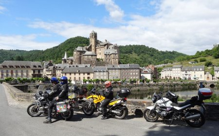 Descubrimiento de Francia en motocicleta
