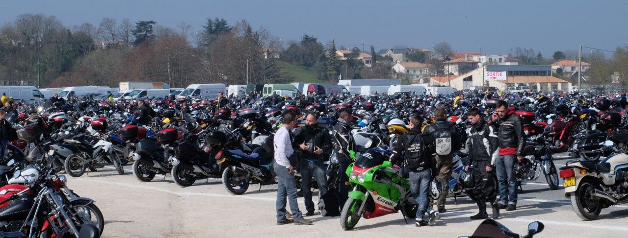 31st Edition of the Motorcycle flea market of Niort