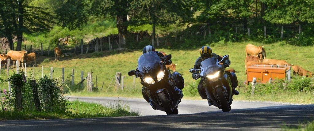 Regional motorcycle tours in France