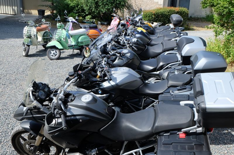 motorcycle rental and tours in France