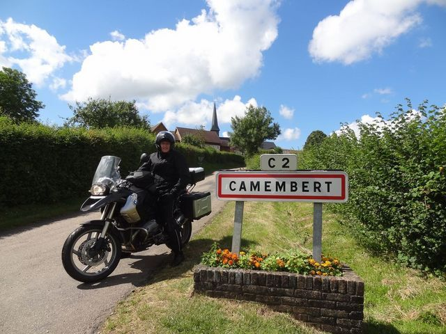 normandy tour moto