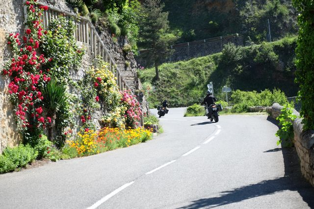 Visit south of france on motorcycle
