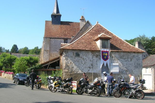 self-guided motorcycle tour france limousin