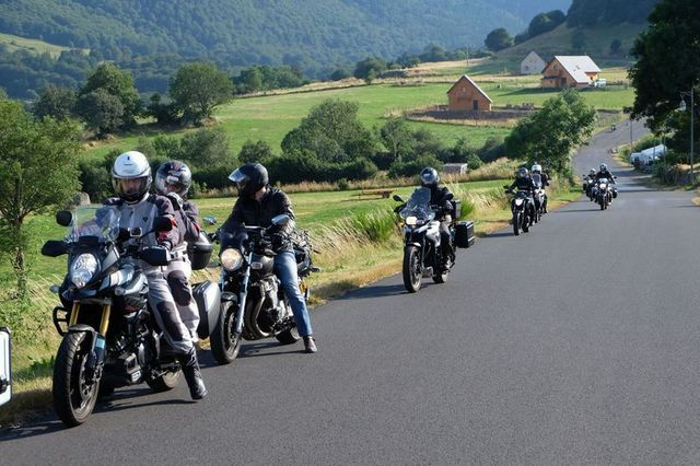 motorcycle tour france auvergne