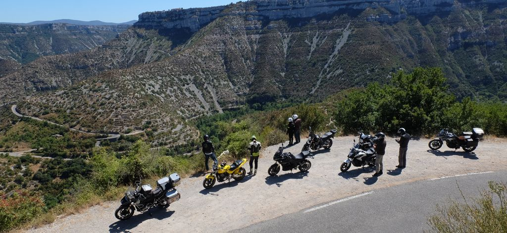 motorcycle tour auvergne cevennes guided