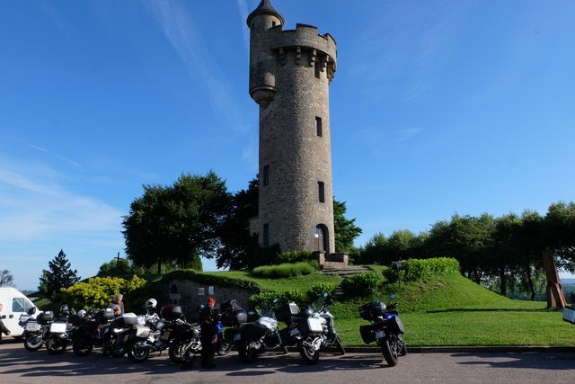 visit france on a motorcycle