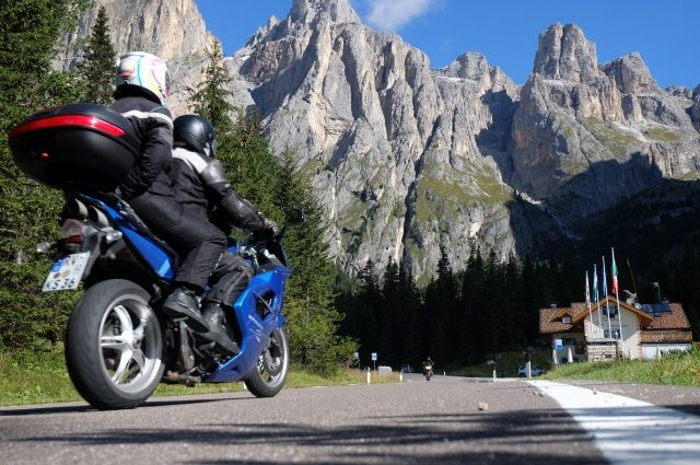 self guided tour alps motorcycle