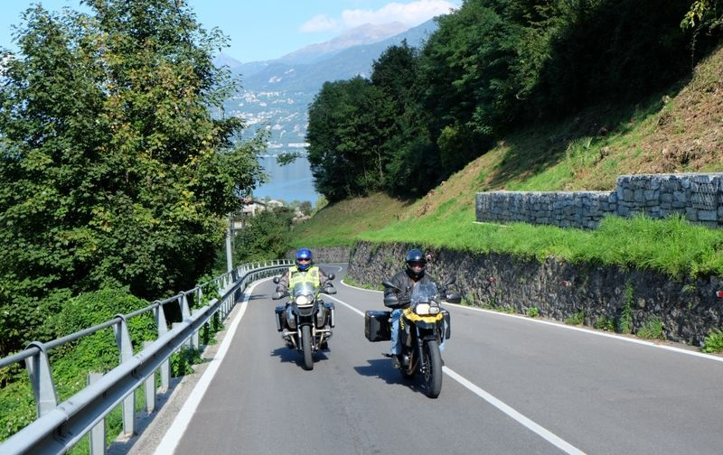 motorcycle tour italy