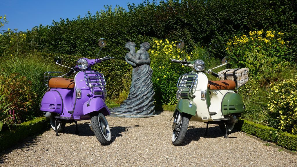 rental scooter vintage tours