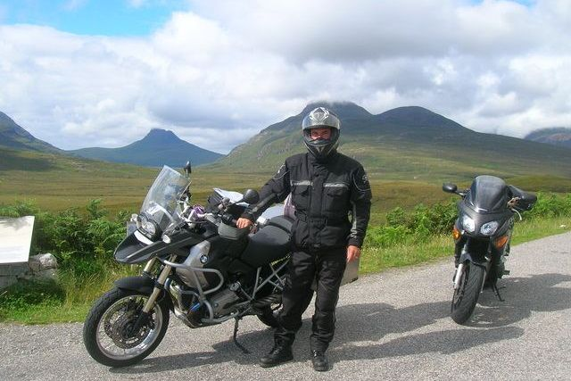 motorcycle tour in scotland