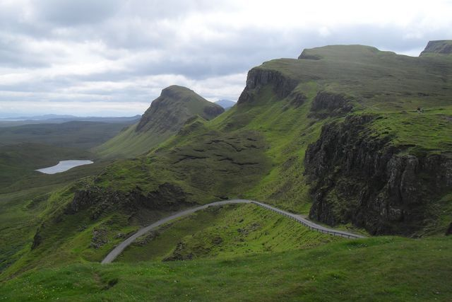 motorcycle trip in scotland