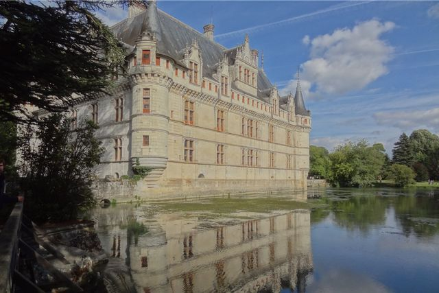 castle loire valley motorcycle