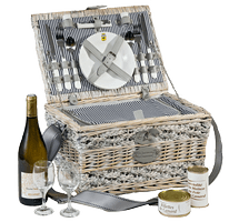 picnic basket with scooter