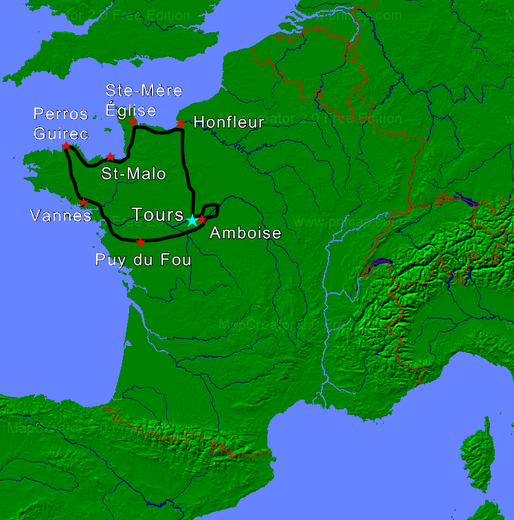 normandy-tour-map-ride-in-tours