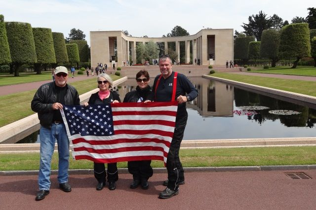 D-day omaha beach motorcycle tour