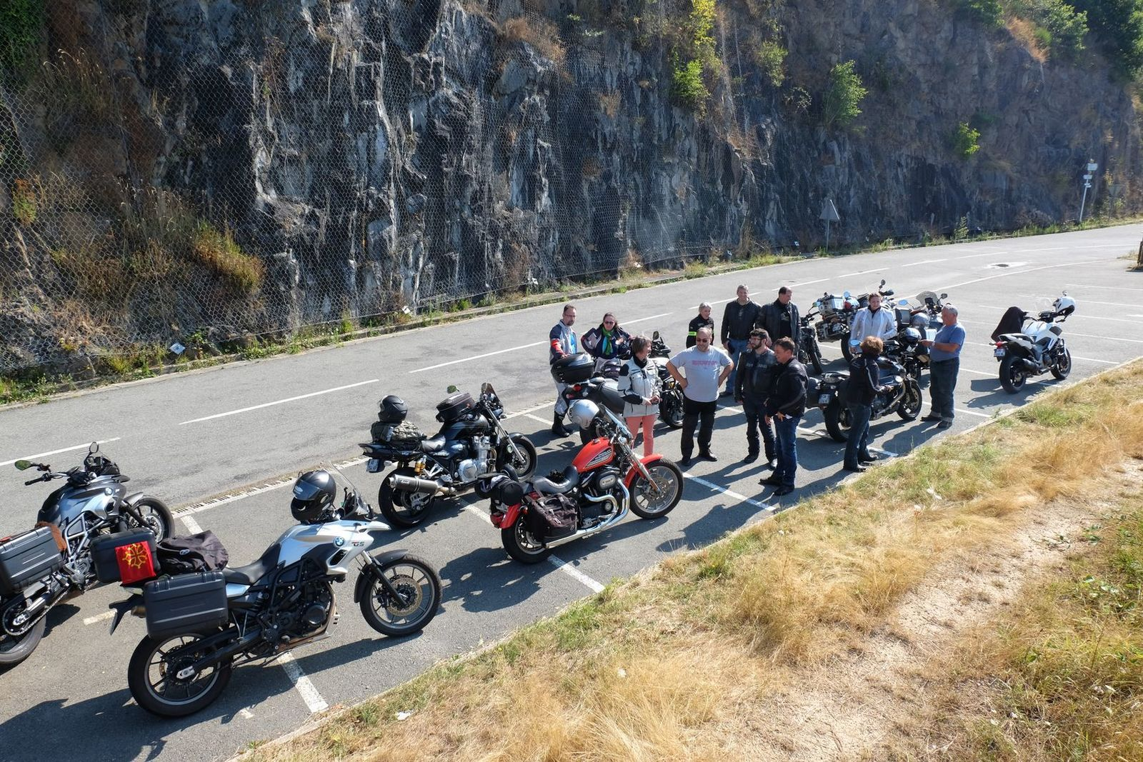 motorcycle guided tour auvergne cevennes