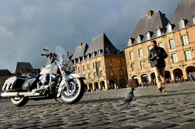 motorcycle ardennes france touring