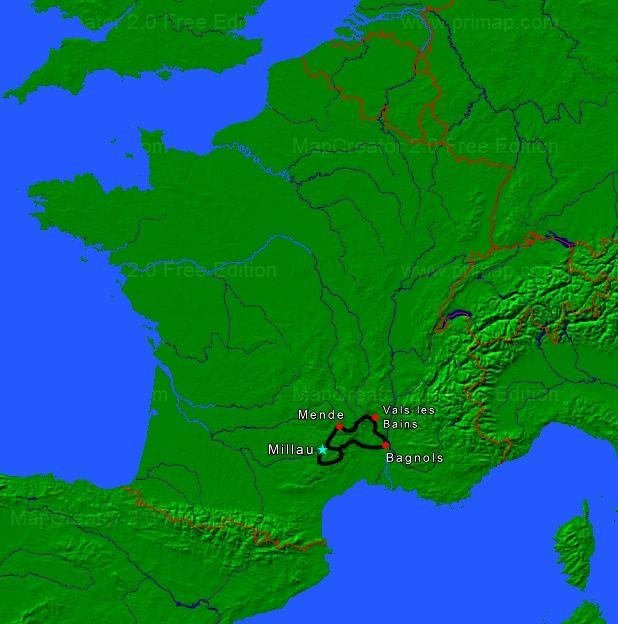 Cévennes & Ardèche à moto