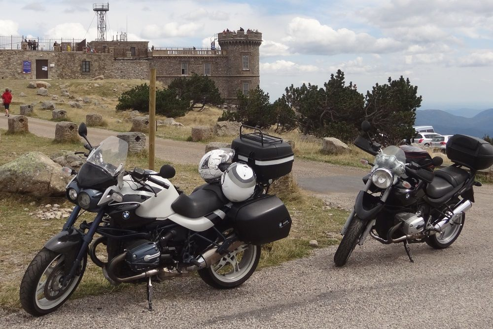 motorcycle tour in France