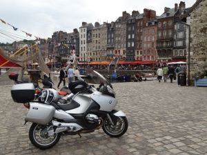 motorcycle BMW in Honfleur