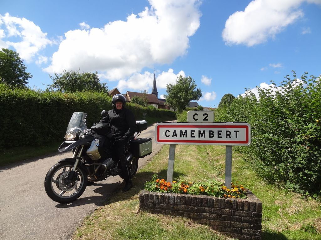 Normandy motorcycle tour