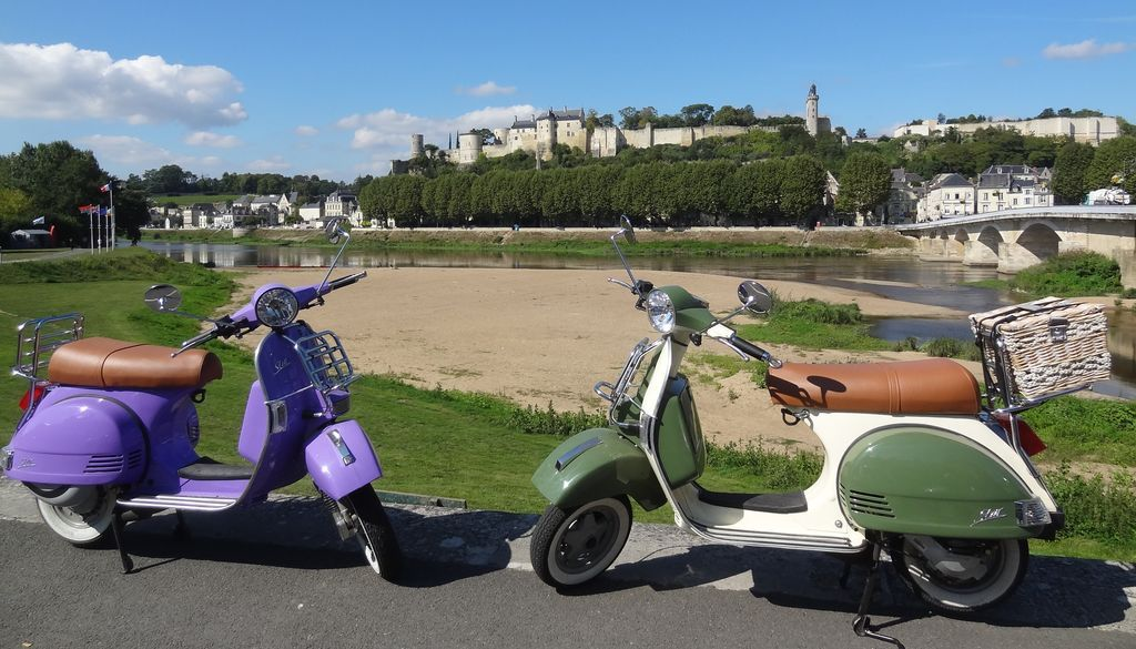Tour A Vintage Scooter In The Loire Valley Scooter