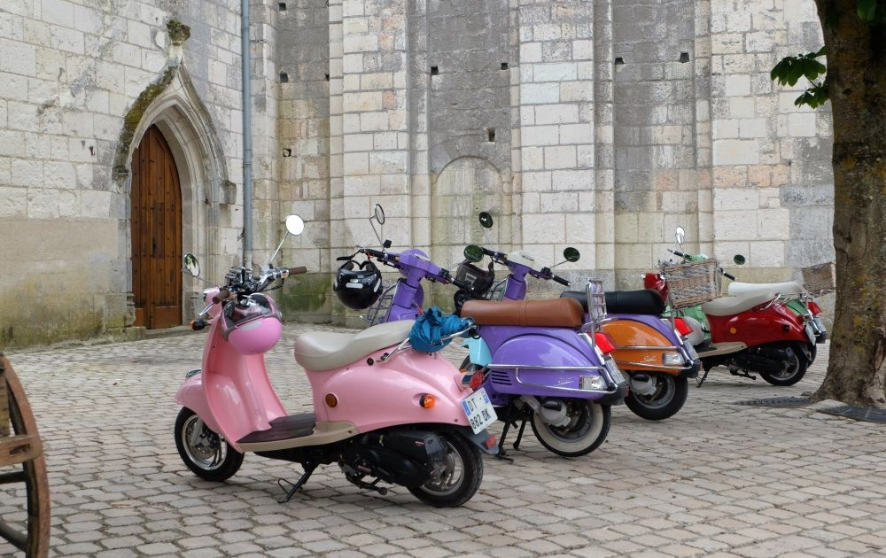 scooter rental guided tour