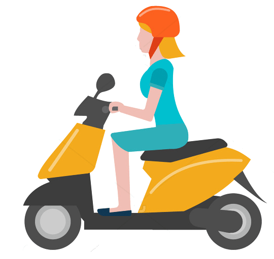 scooter solo femme